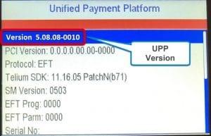 Ingenico Tetra UPP Version