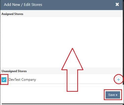 Business Employee Add Store